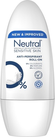 Neutral Roll-on Anti-perspirant 0% 50ml