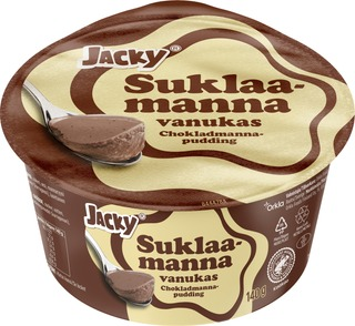 Jacky Suklaamanna Vanukas 140G