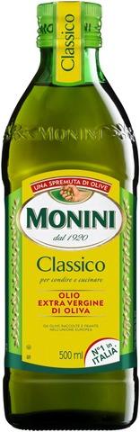 Monini  Extra Virgin Classico Ekstra-Neitsytoliiviöljy 500 Ml