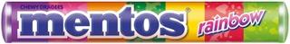 Mentos 37,5G Rainbow Vesimeloni-Mansikka-Omena-Appelsiini-Greippi-Vadelma-Mustikka Pastilli