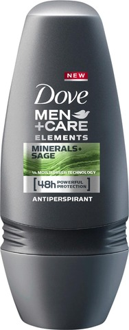 Dove Men+Care Roll-on Mineral&Sage 50ml