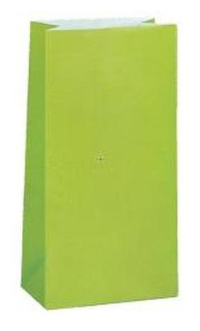 Unique Lahjapussi Paperia 12Kpl Lime