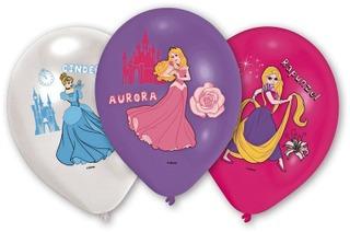 Disney Prinsessat ilmapallot 6kpl