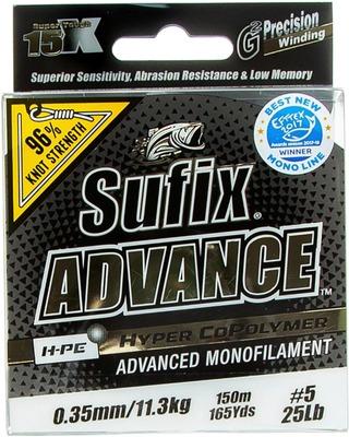 Sufix Advance 150M 0,35Mm / 11,3Kg Kirkas Monofiilisiima