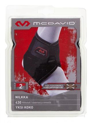 Mcdavid 430 Nilkkatuki Musta
