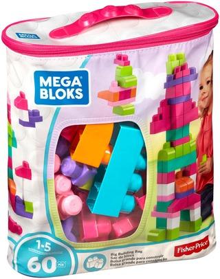 Mega Blocks Puuhapalikat Dch54 Pinkki 60Kpl