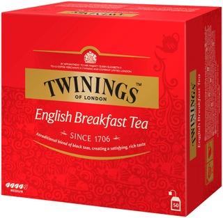 Twinings 50X2g English Breakfast Tee