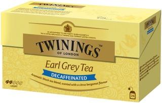 Twinings 25X2g Earl Grey Kofeiiniton Tee