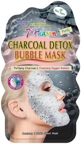 Mj charcoal detox bubble mask