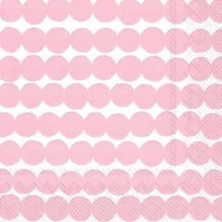 Marimekko 33Cm Räsymatto Vaaleanpunainen 20Kpl Lautasliina