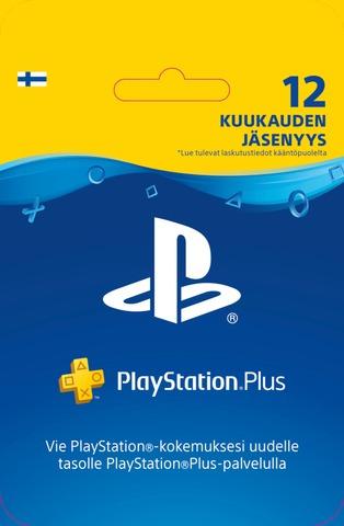 Playstation Plus Kortti 12Kk Jäsenyys
