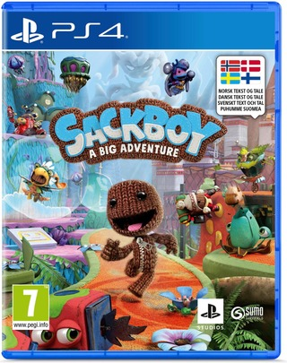 Ps4 Sackboy A Big Adventure!