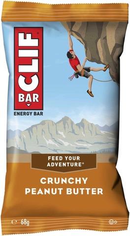 Clif Bar 68G Maapähkinävoi Energiapatukka