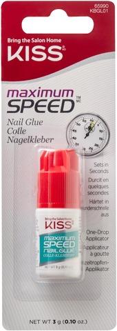Kiss 3G Maximum Speed Nail Glue Kynsiliima