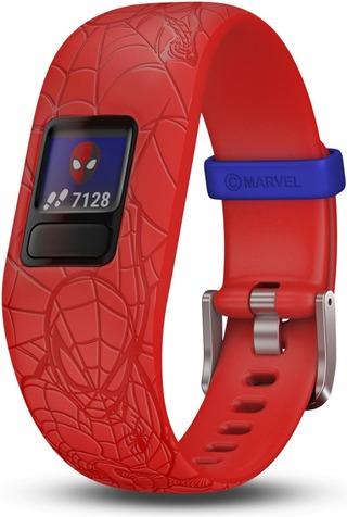Garmin Vivofit Junior 2 Aktiivisuusranneke Spider-Man Punainen