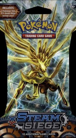 Pokemon Xy Steam Siege Keräilykortit