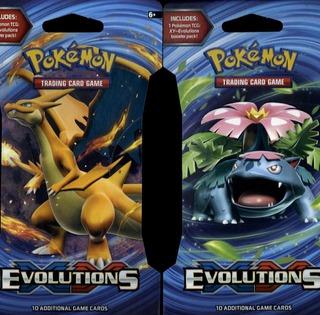 Pokemon Xy Evolutions -Keräilykortit