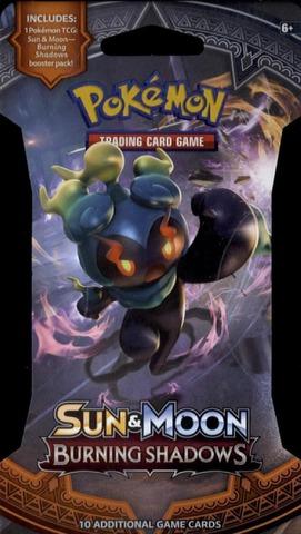 Pokemon Sun & Moon Burning Shadows -Keräilykortit