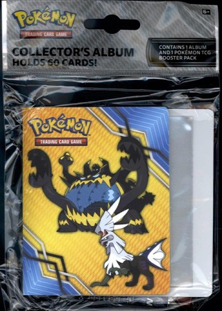 Pokemon Sun & Moon Crimson Invasion Collector's Album Aloituspakkaus
