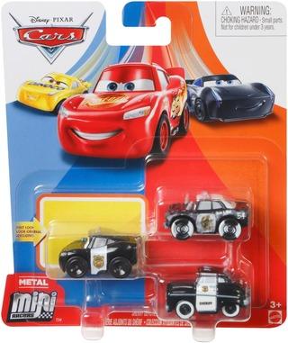 Disney Autot Mini Racers Miniauto 3Kpl