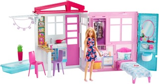 Barbie House With Doll Fxg55