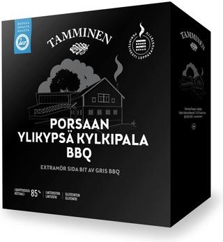 Tamminen Porsaan Ylikypsä Kylkipala Bbq N1kg