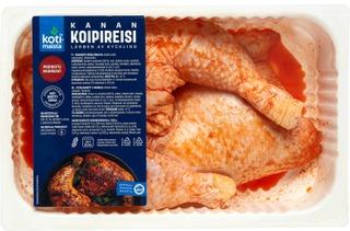 Kotimaista Kanan Koipireisi Marinoitu N1,1kg