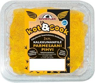 Kivikylän Kot&Cook Kalkkunan parmesanpihvi n.360g