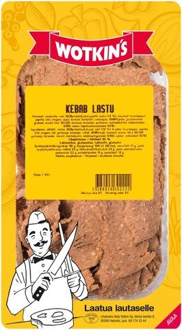 Chef Wotkin´S 250-350G Kebab-Lastu