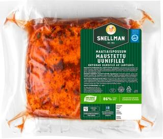 Snellman Maalaispossun Maustettu Uunifilee N1,4kg