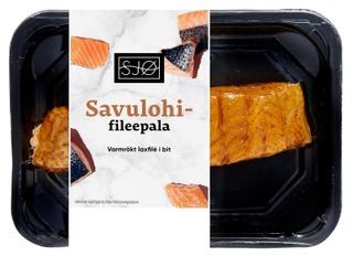 SJØ Savulohifileepala n250g skin-pack