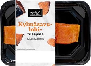 Sjø Kylmäsavulohifileepala N250g Skin-Pack