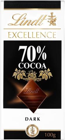 Lindt Excellence 70% tumma suklaalevy 100g