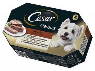 Cesar Classics Selection 4x150g