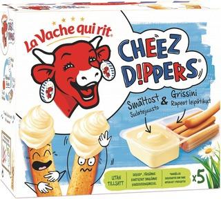 Den Skrattande Kon Cheez Dippers 175G 5 Kpl