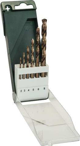Bosch Metalliporanteräsarja Hss-Co 2-8Mm 6-Osainen