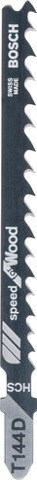 Bosch Pistosahanterä Speed For Wood 2 Kpl