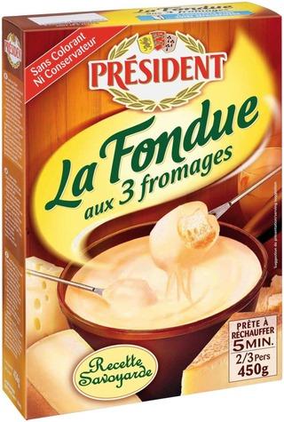 Président 450g Fondue juustofondue