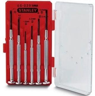 Stanley 1-66-039 Hienomekaaninen Talttasarja 6-Osainen