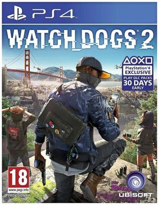 Playstation 4 Peli Watch_dogs 2