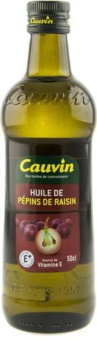 Cauvin 50Cl Viinirypälesiemenöljy