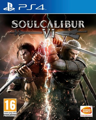 Playstation 4 Peli Soulcalibur Vi