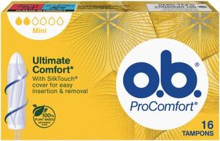 O.b.® Procomfort Mini Tamponi 16 Kpl