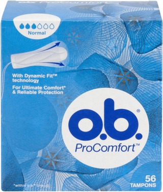 o.b.® ProComfort Normal tamponi 56 kpl