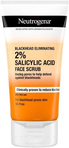 Neutrogena Blackhead Eliminating Facial Scrub kuorintavoide 150 ml