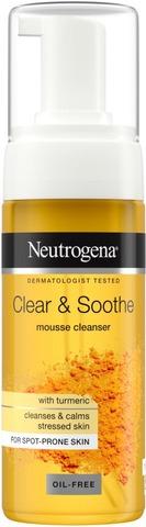 Neutrogena Clear & Soothe Mousse Cleanser puhdistusvaahto 150 ml