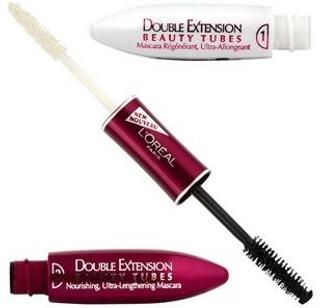 L'oréal Paris Double Extension Beauty Tubes Black 2X7ml