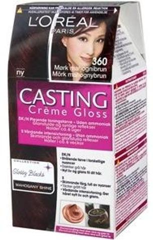 L'oréal Paris Casting Crème Gloss 360 Black Cherry Tumma Mahonginruskea Kevytväri 1Kpl