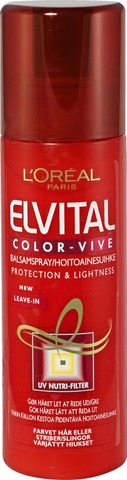 L'oréal Paris Elvital Color Vive Hoitoainesuihke Värjätyille Hiuksille 200Ml