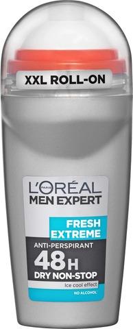 L'Oréal Paris Men Expert Deo Roll-On Fresh Extreme 48h Antiperspirantti 50ml